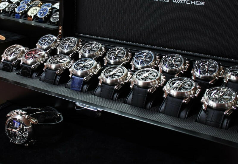 Экспорт швейцарских часов резко сократился