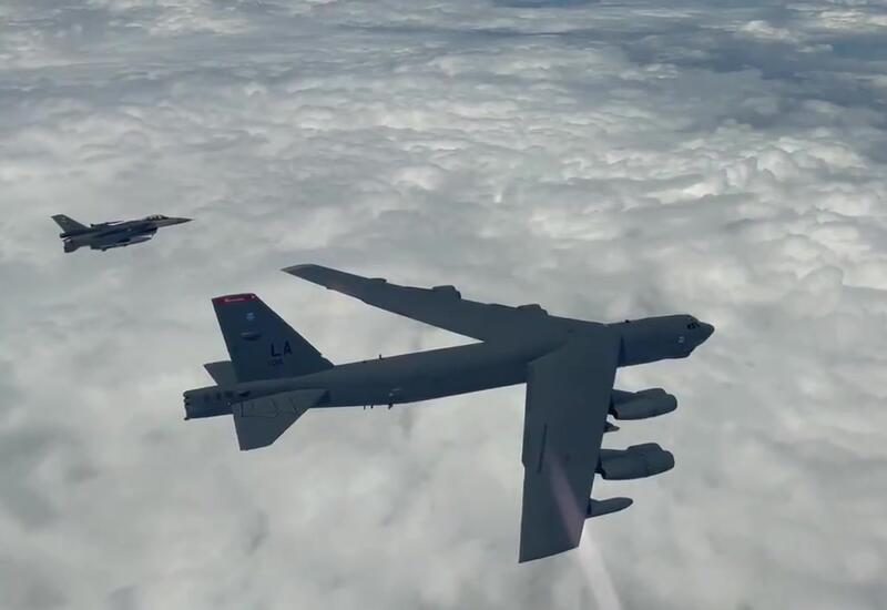 Турецкие истребители сопроводили американский военный самолет