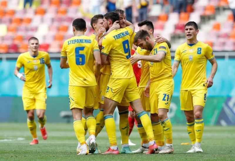 Сборная Украины переиграла Северную Македонию на Евро-2020