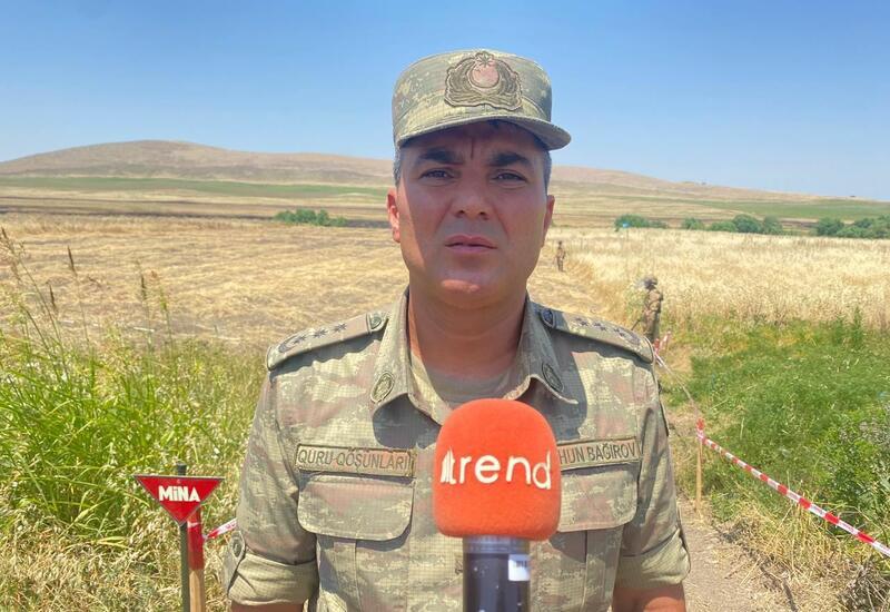 Свыше 7 тыс. гектаров освобожденных территорий Азербайджана очищено от мин