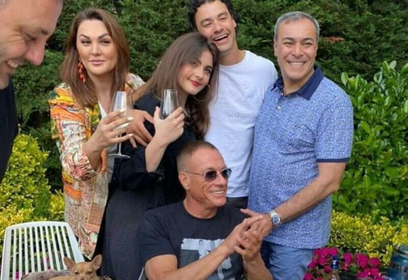 Кто она - азербайджанская сноха Ван Дамма?