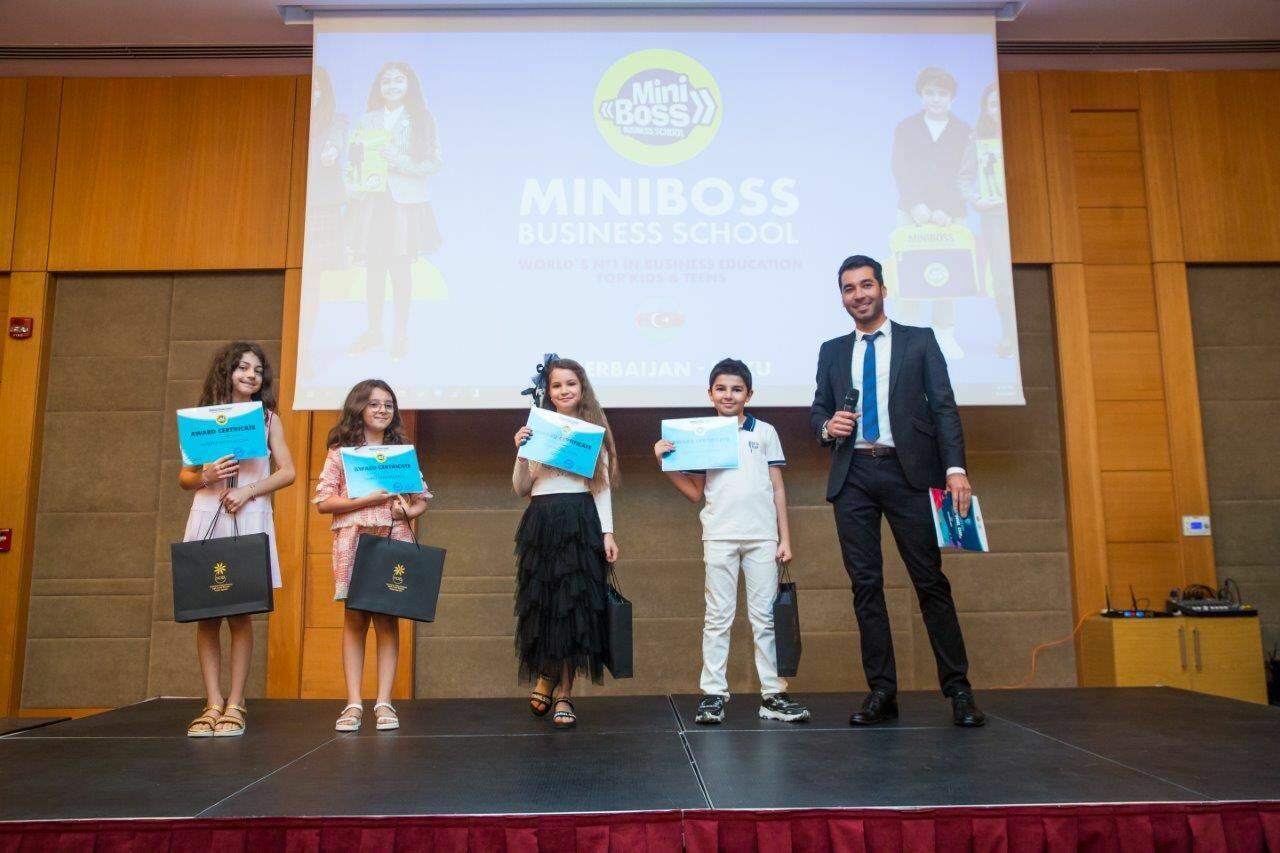 """Определился победитель первого национального чемпионата """"MiniBoss Business School Baku"""""""