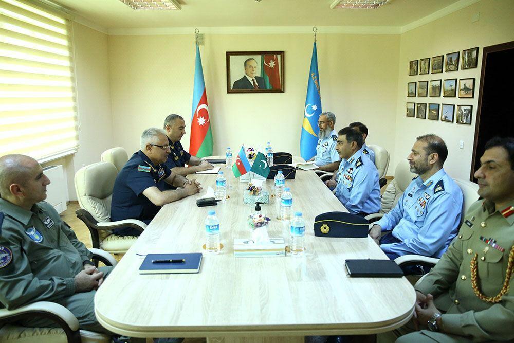 Военно-воздушные силы Азербайджана и Пакистана обсудили сотрудничество