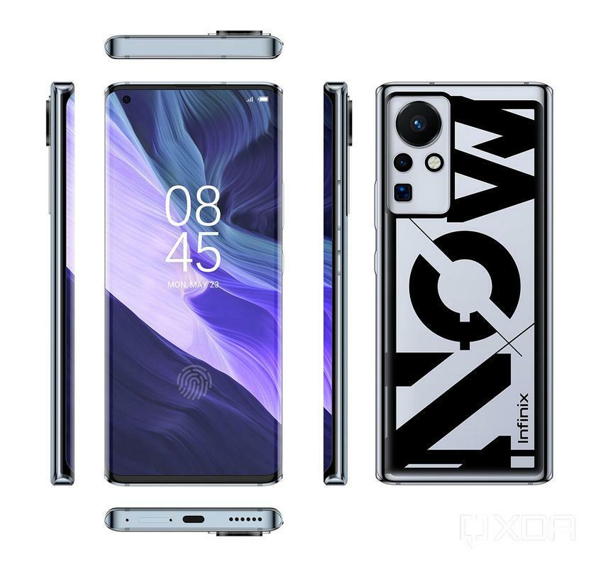 Так будет выглядеть первый смартфон в мире с быстрой зарядкой на 160 Вт