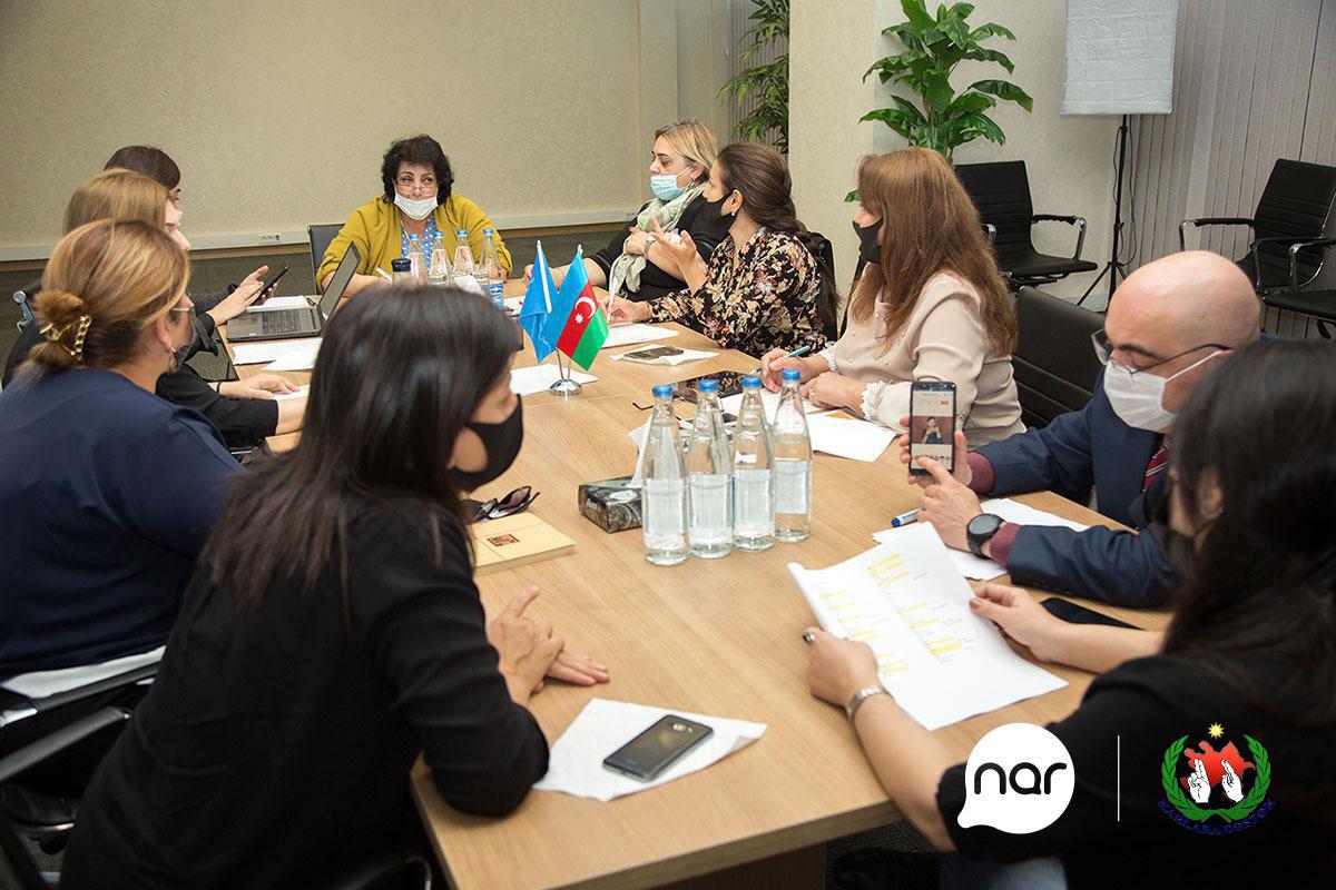 Продолжаются работы по созданию веб-страницы первого в Азербайджане словаря языка жестов