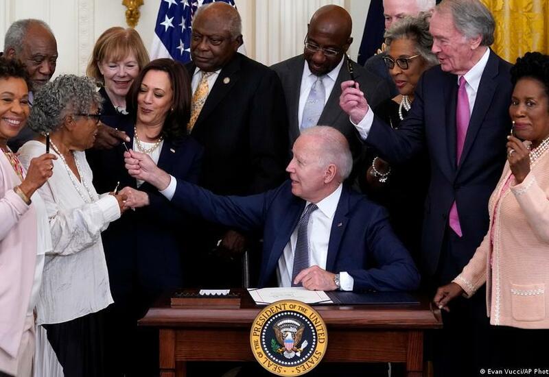 День отмены рабства в США стал праздником