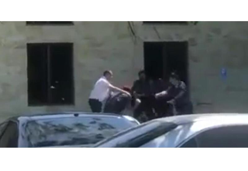 Массовая драка с участием полиции в Ереване
