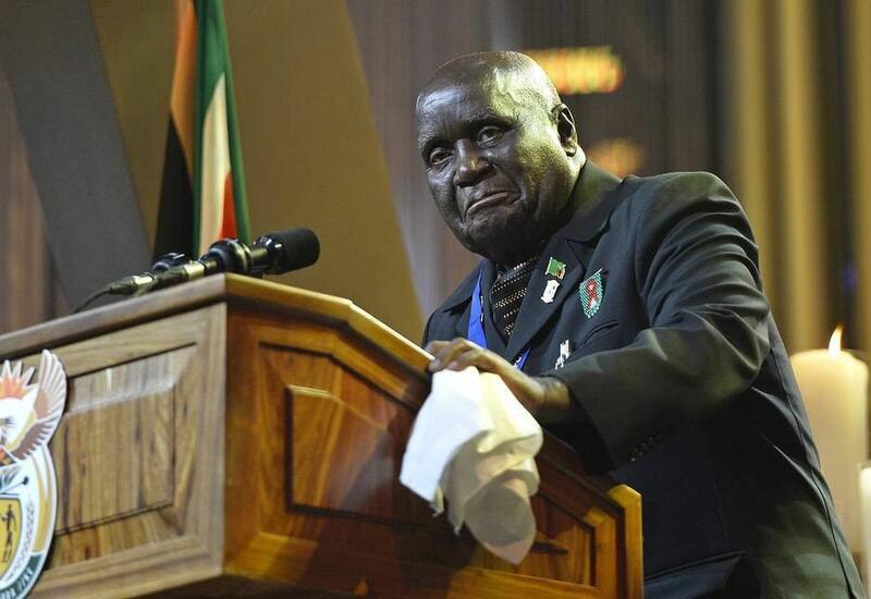 В Замбии объявили трехнедельный траур