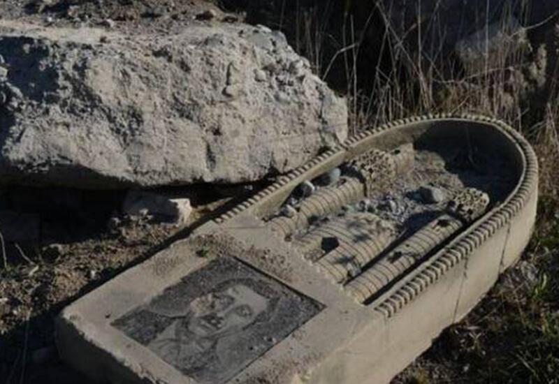 Армяне вывезли 70 процентов надгробий с азербайджанских кладбищ Карабаха