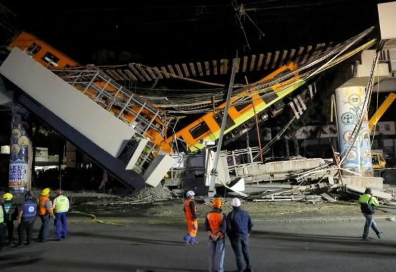 Проверка линии метро в Мехико после обрушения выявила многочисленные дефекты