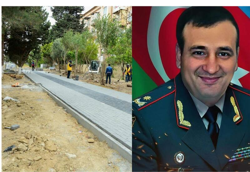 В Баку готовится к открытию парк имени Полада Гашимова