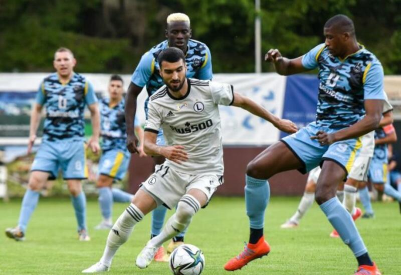 Махир Эмрели оформил хет-трик в дебютной игре за Легию