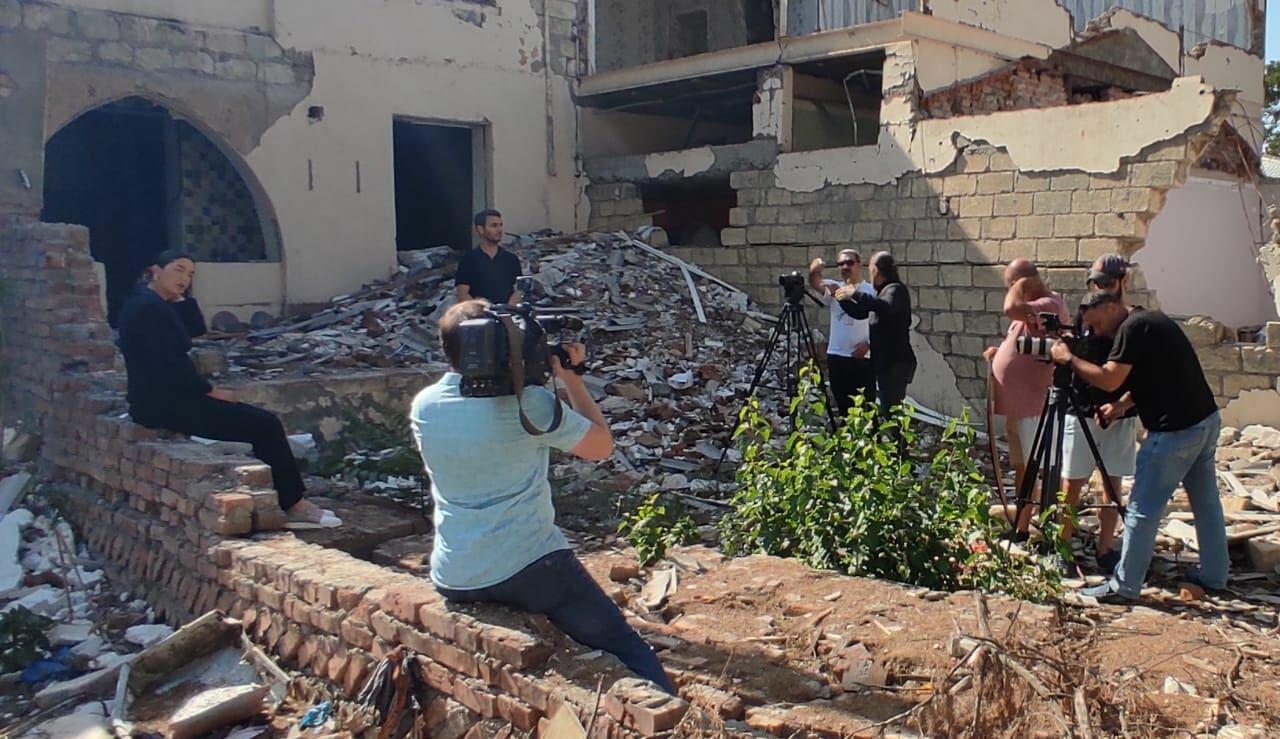 В Азербайджане снимают фильм о турецкой журналистке Фулье Озтюрк