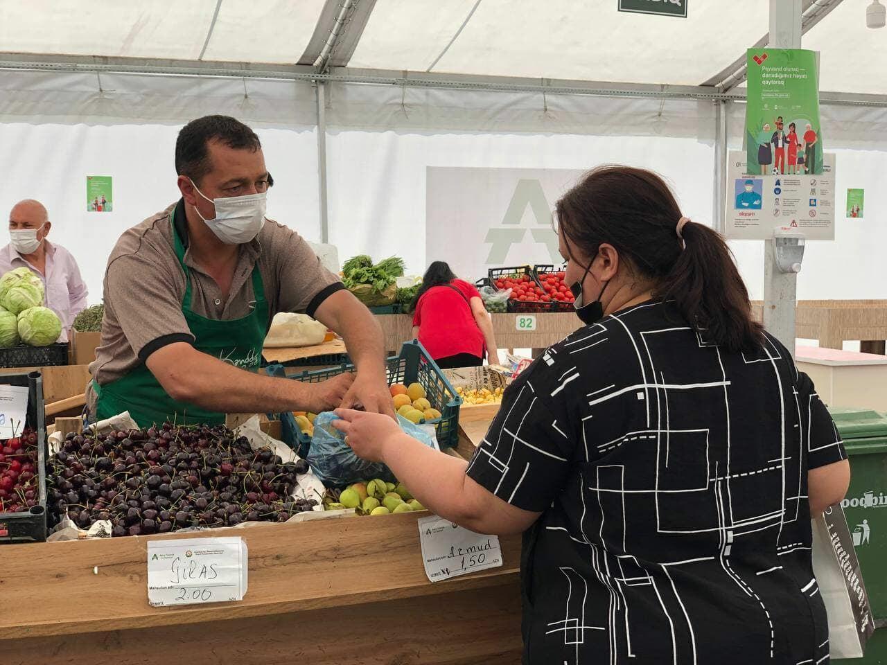 В Баку пройдут сельскохозяйственные ярмарки
