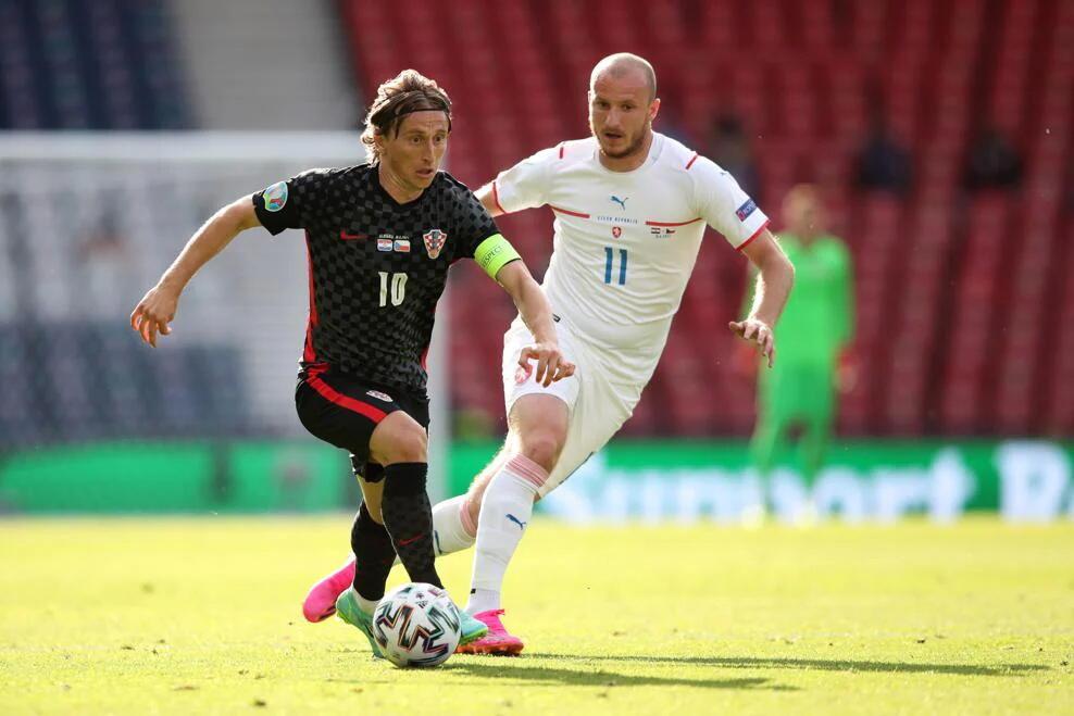 Хорватия и Чехия сыграли вничью в рамках Евро-2020