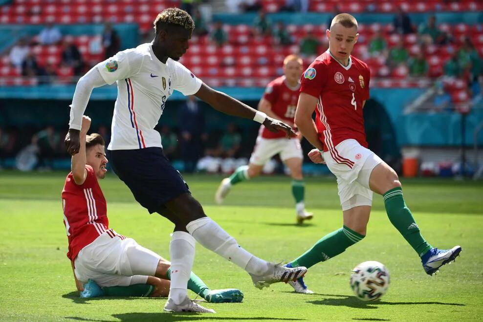 Франция сыграла вничью с Венгрией во втором туре группового этапа Евро-2020