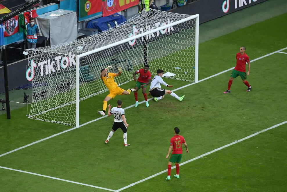 ЕВРО-2020: Германия обыграла Португалию и вышла на второе место в группе