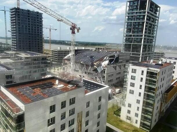 В Бельгии обрушилось здание школы,