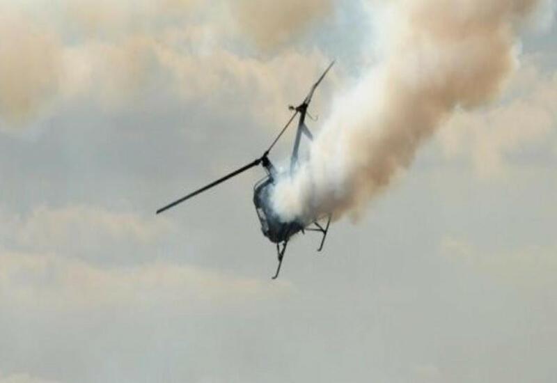 В Иране разбился вертолет,