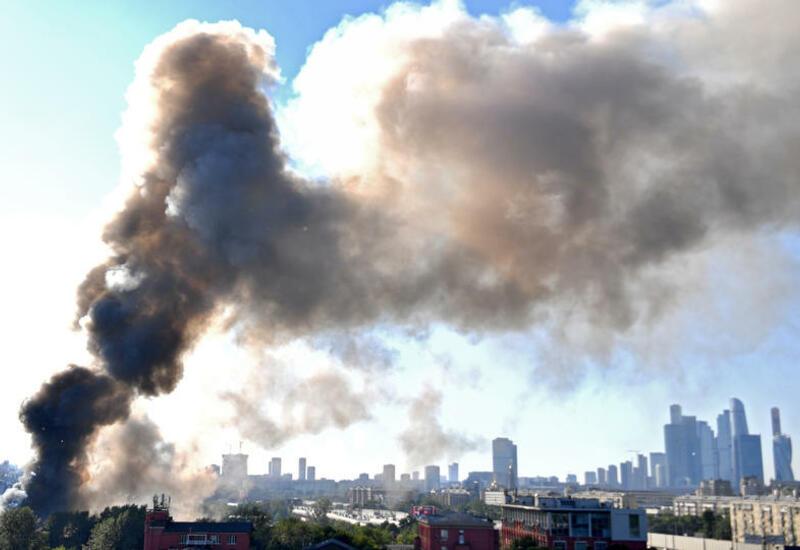 Взрыв на складе пиротехники в Москве