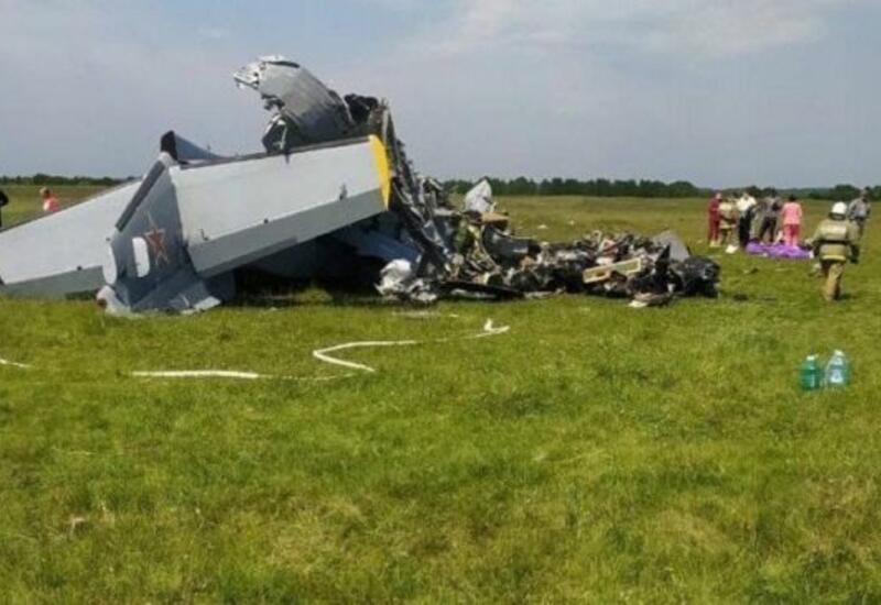 Названа причина крушения самолета в России