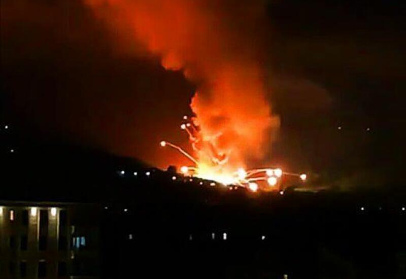 Hа военном предприятии в Сербии произошел взрыв