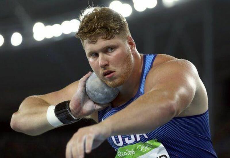 Олимпийский чемпион Краузер установил мировой рекорд в толкании ядра
