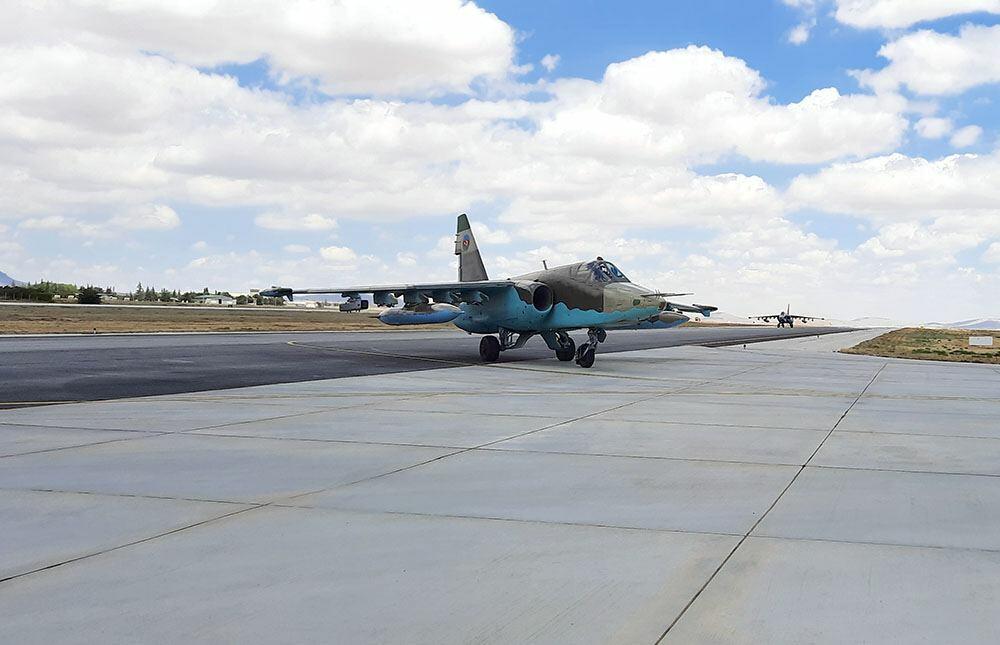 Подготовительные тренировки ВВС Азербайджана к учениям «Анатолийский орел-2021»