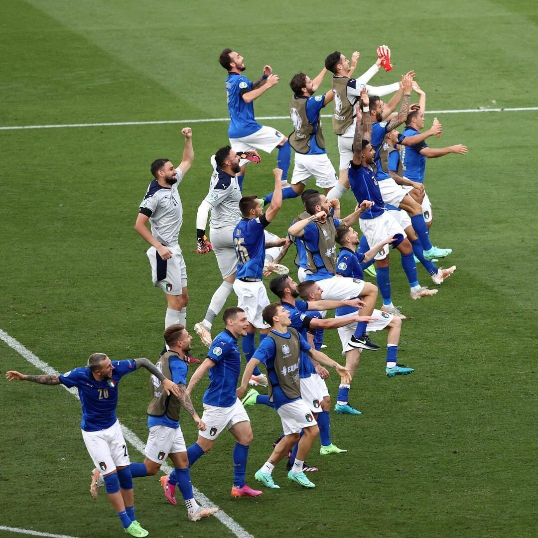 Сборная Италии победила Уэльс в рамках Евро-2020