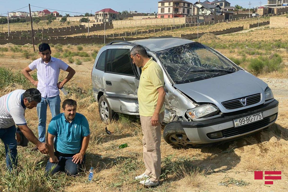 Тяжелое ДТП на дороге Новханы-Масазыр,