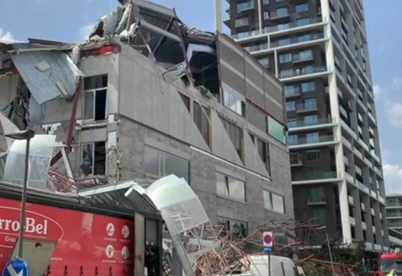 В Антверпене обрушилось здание школы, есть жертвы