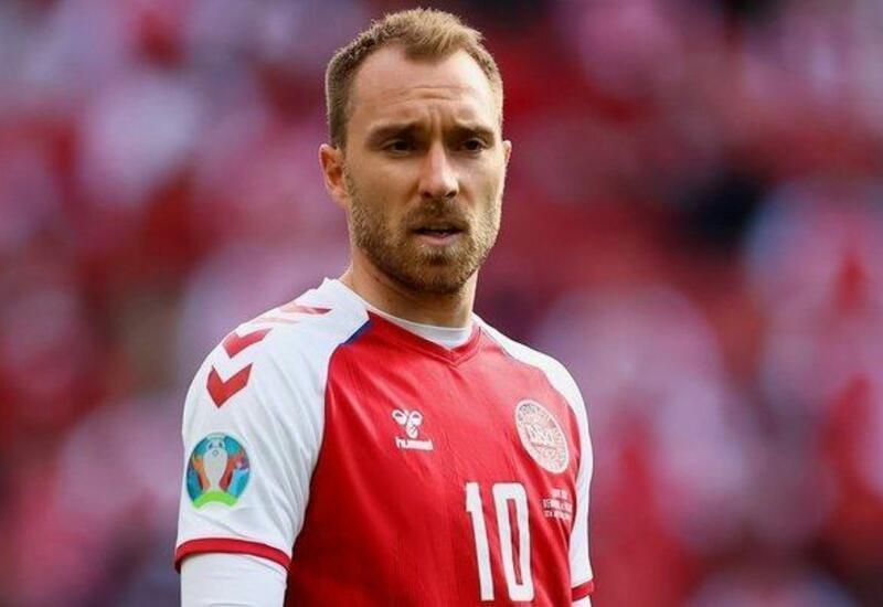 Переживший остановку сердца Эриксен посетил тренировку сборной Дании