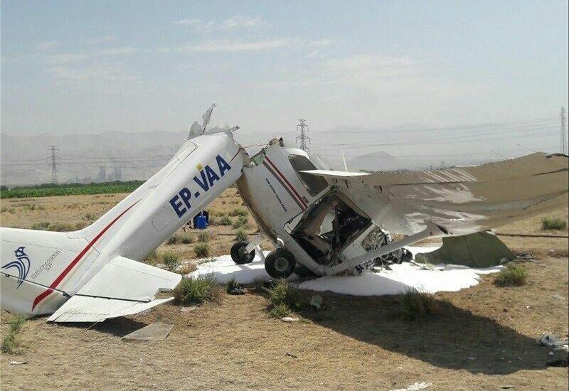В Иране разбился учебный самолет
