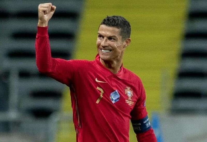 Роналду установил очередной рекорд чемпионатов Европы