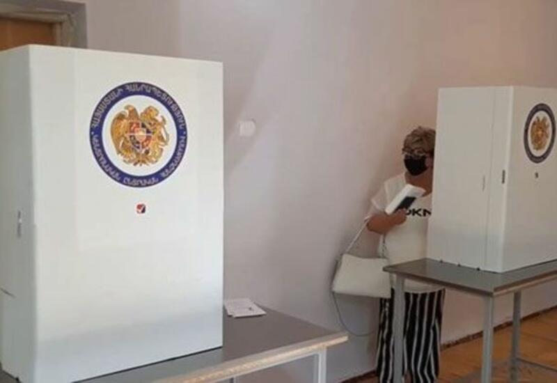 Опубликованы кадры фальсификации выборов в Армении