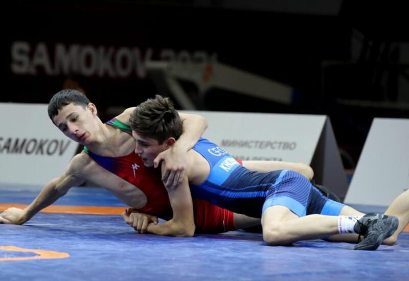Четвертое золото Азербайджана на юношеском ЕВРО по борьбе