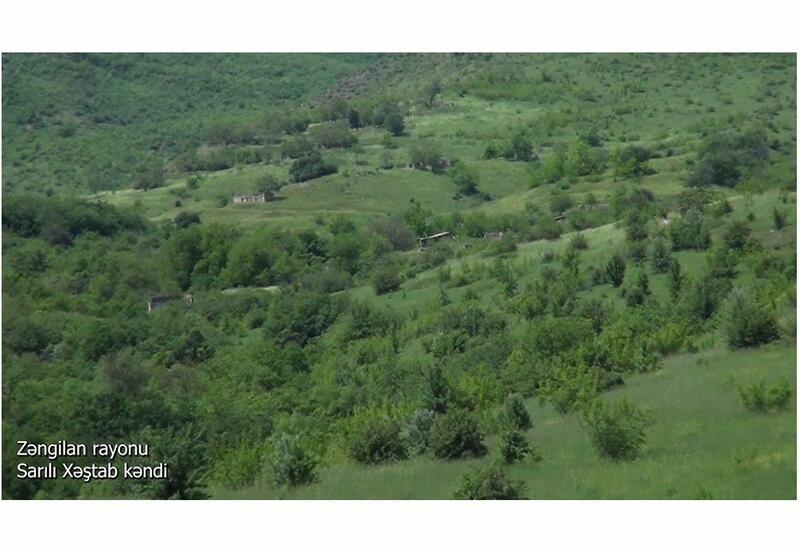 Село Сарылы Хештаб Зангиланского района