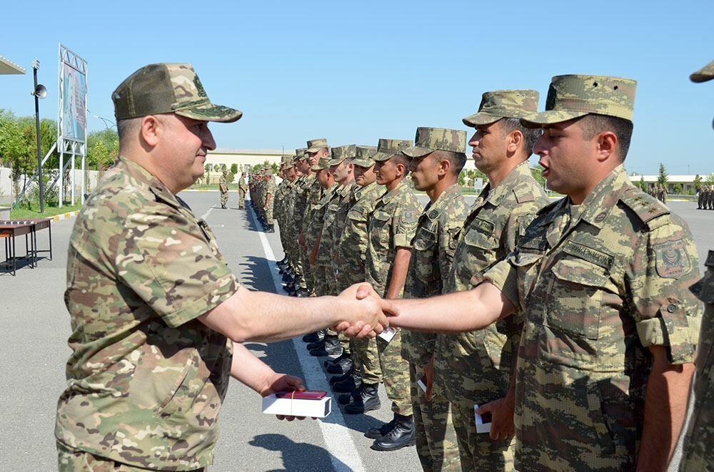 Очередная группа военнослужащих Азербайджанской Армии отправилась на курсы коммандос в Турции
