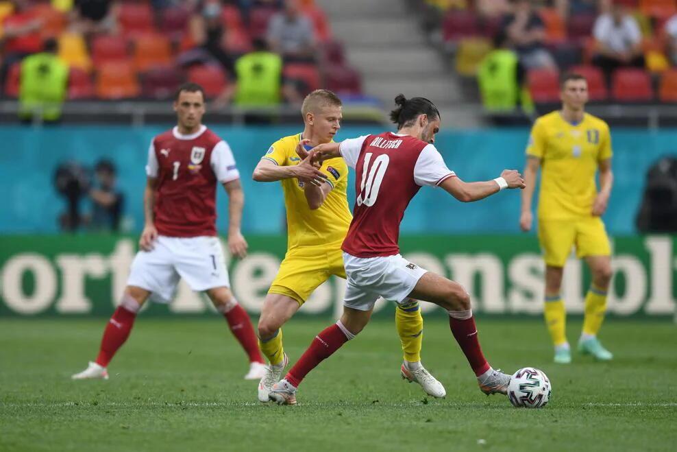 ЕВРО-2020: Украина проиграла Австрии и заняла третье место в группе
