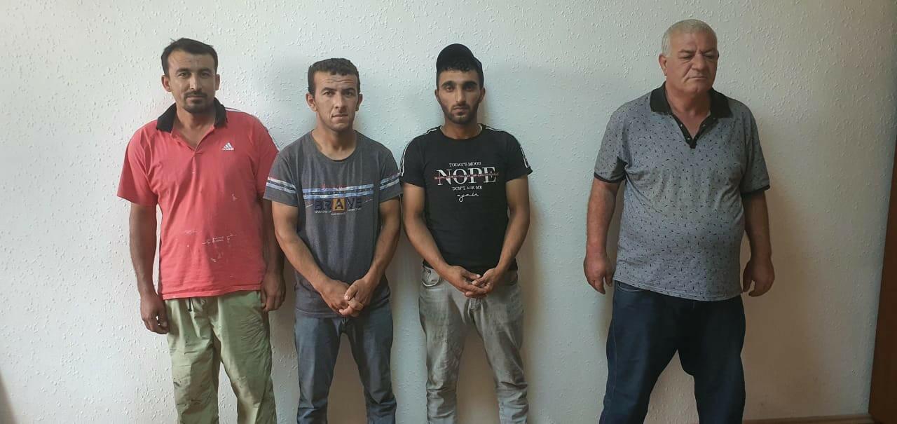 Задержаны лица, занимавшиеся незаконным выловом осетровых в Каспийском море