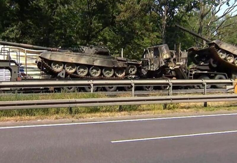 В Польше девушка стала причиной мощных взрывов танков