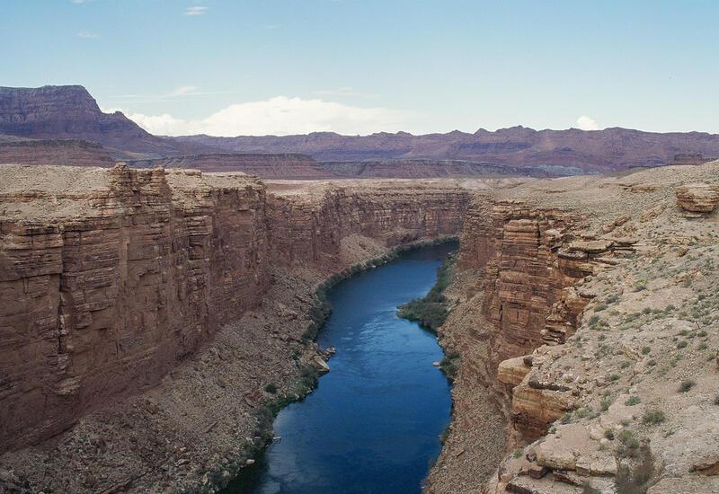 В США впервые в истории пересохла река Колорадо