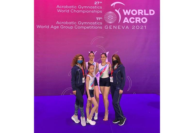 Азербайджанские спортсмены примут участие на Всемирных соревнованиях по акробатической гимнастике в Женеве