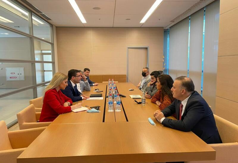 Агентство развития медиа Азербайджана обсудило вопросы сотрудничества с медиа-институтом Aljazeera