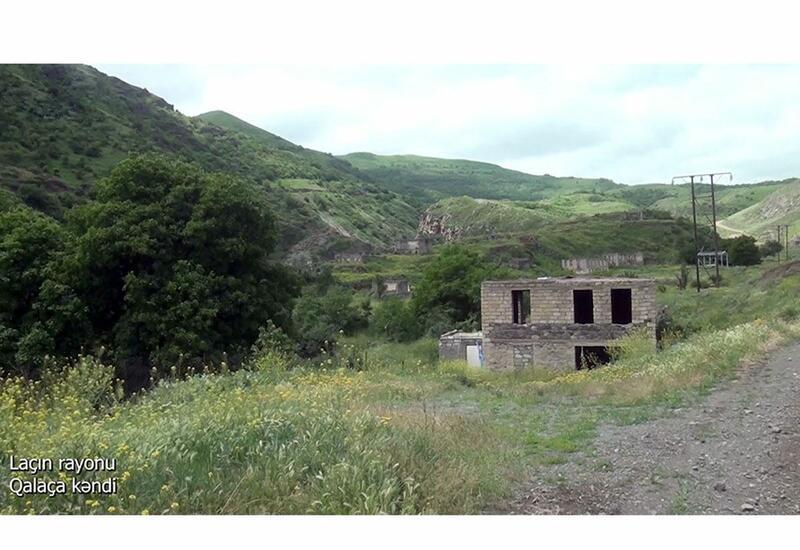 Село Галача Лачинского района