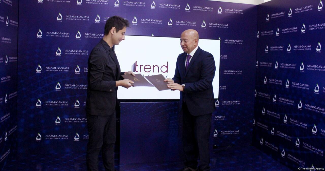 Подписан Меморандум о сотрудничестве между АМИ Trend и Международным центром Низами Гянджеви