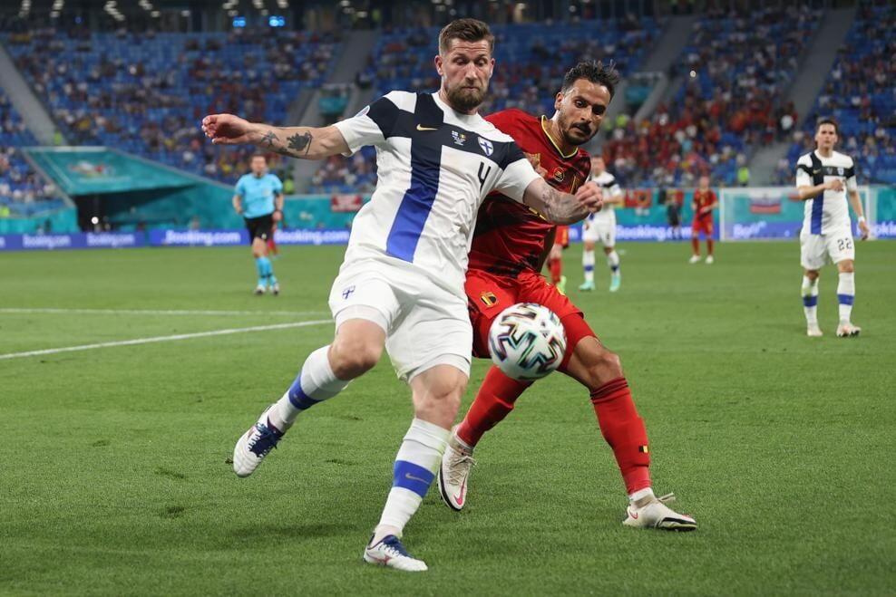 ЕВРО-2020: Сборная Бельгии обыграла Финляндию