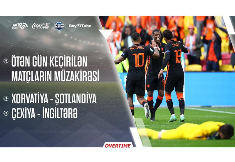 Overtime на Day.Az! - ЕВРО-2020: анализ матчей