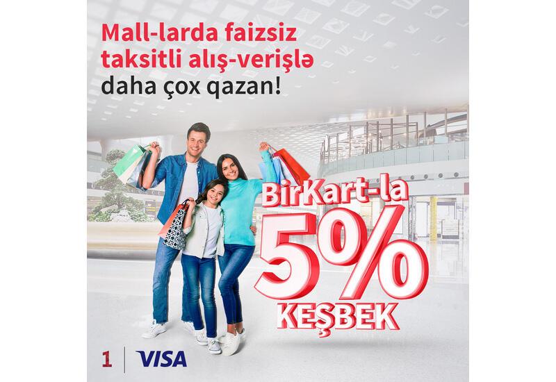 Держатели BirKart получат дополнительный кэшбэк за покупки в моллах (R)