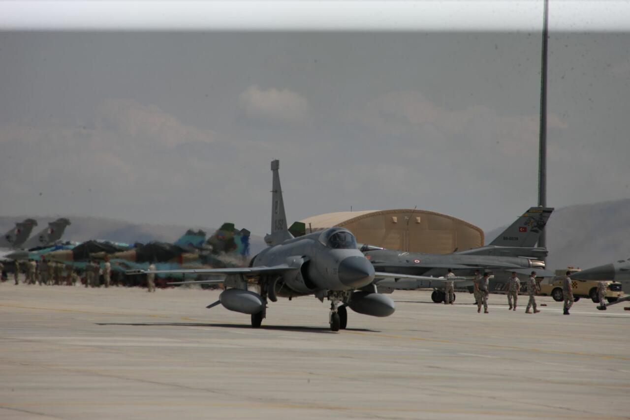 Начались учения «Анатолийский орел - 2021» с участием азербайджанских военнослужащих